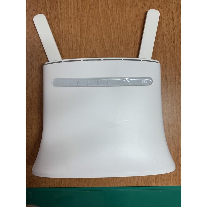 [二手]ZTE 中興 MF283+ 4G 台灣頻段 wifi分享器 無線路由器 家用路由器 網卡路由器 網卡分享器