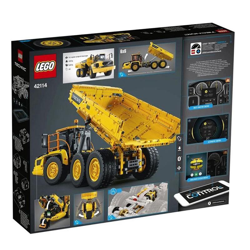 樂高 LEGO 42114沃爾沃絞鏈式自卸車 科技機械 拼搭積木 玩具禮物