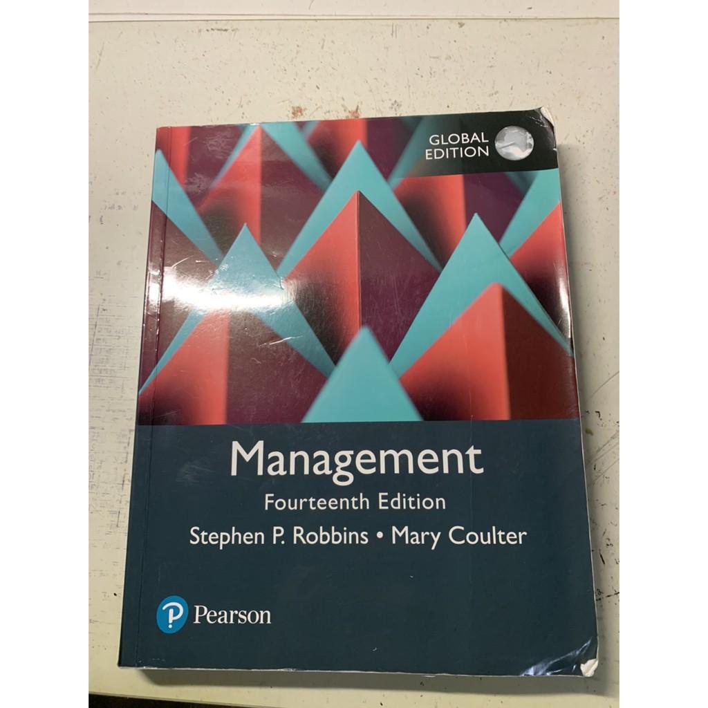 大學管理學,原文書商科管理學第14版,五折價,用半年即收起。