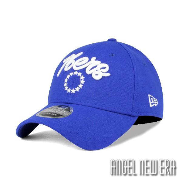【New Era】NBA 費城 76人隊 復古電繡 寶藍色 老帽 9FORTY【ANGEL NEW ERA】