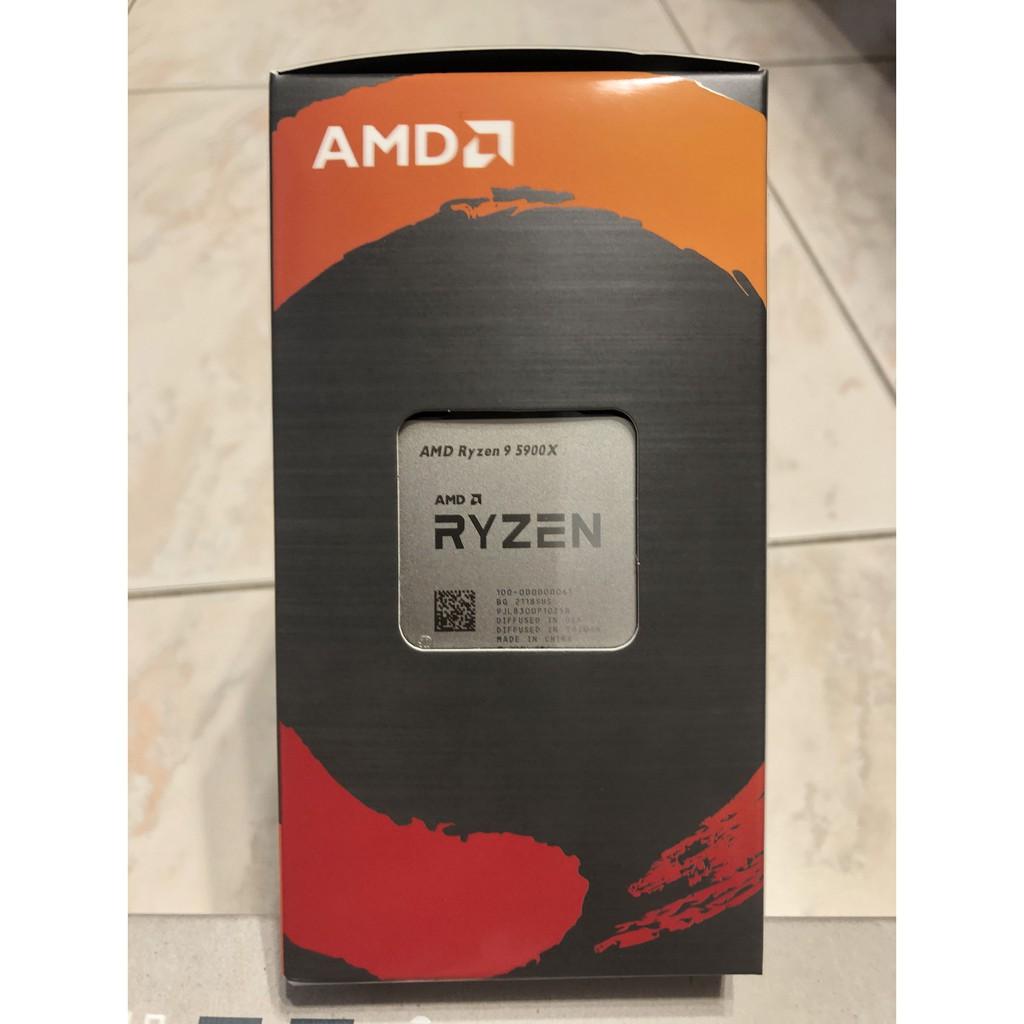 AMD Ryzen9 5900X + 虎徹II 兩樣都全新未拆 六月四日購買