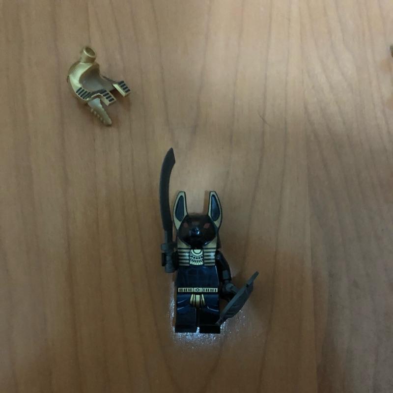 LEGO 7327 胡狼神 正樂高