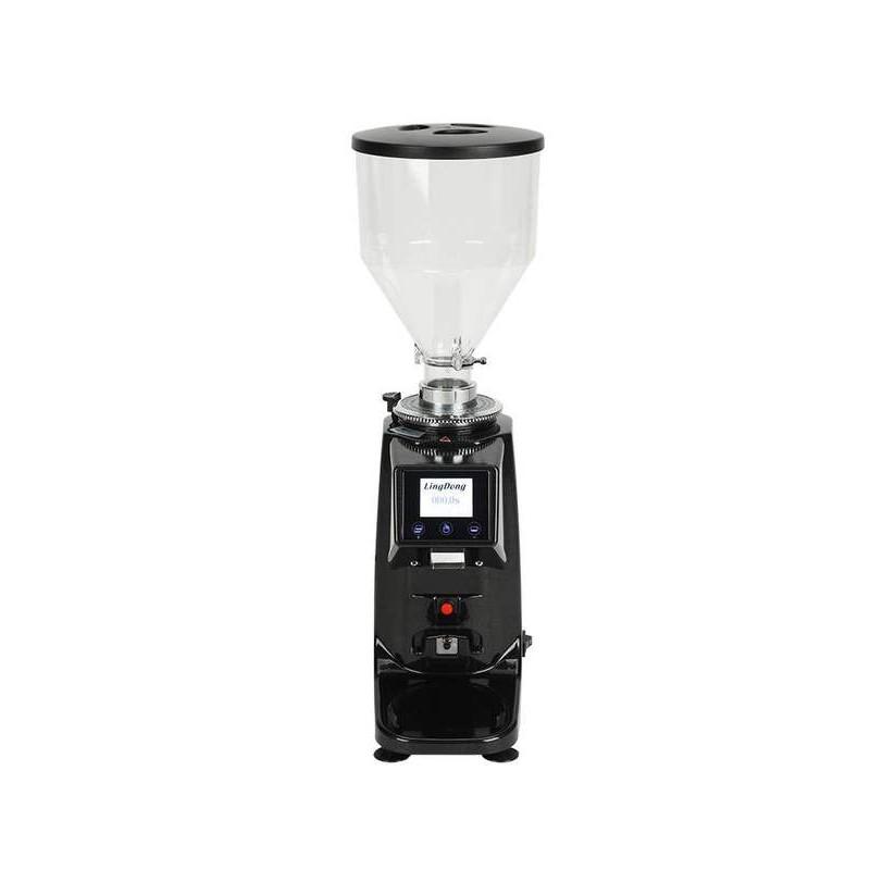 【葉紋家具】意式電控定量磨豆機專業商用咖啡館電動磨粉機家用研磨機可選110V