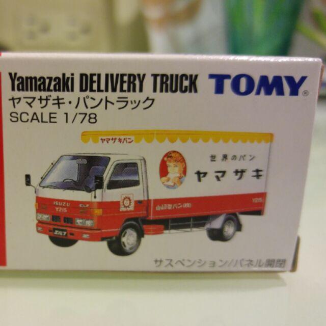 tomica tomy 多美 舊藍標 yamazaki 箱型車 非 大野狼 米妮 驢子紅標 熊抱哥  食物車 拉麵車