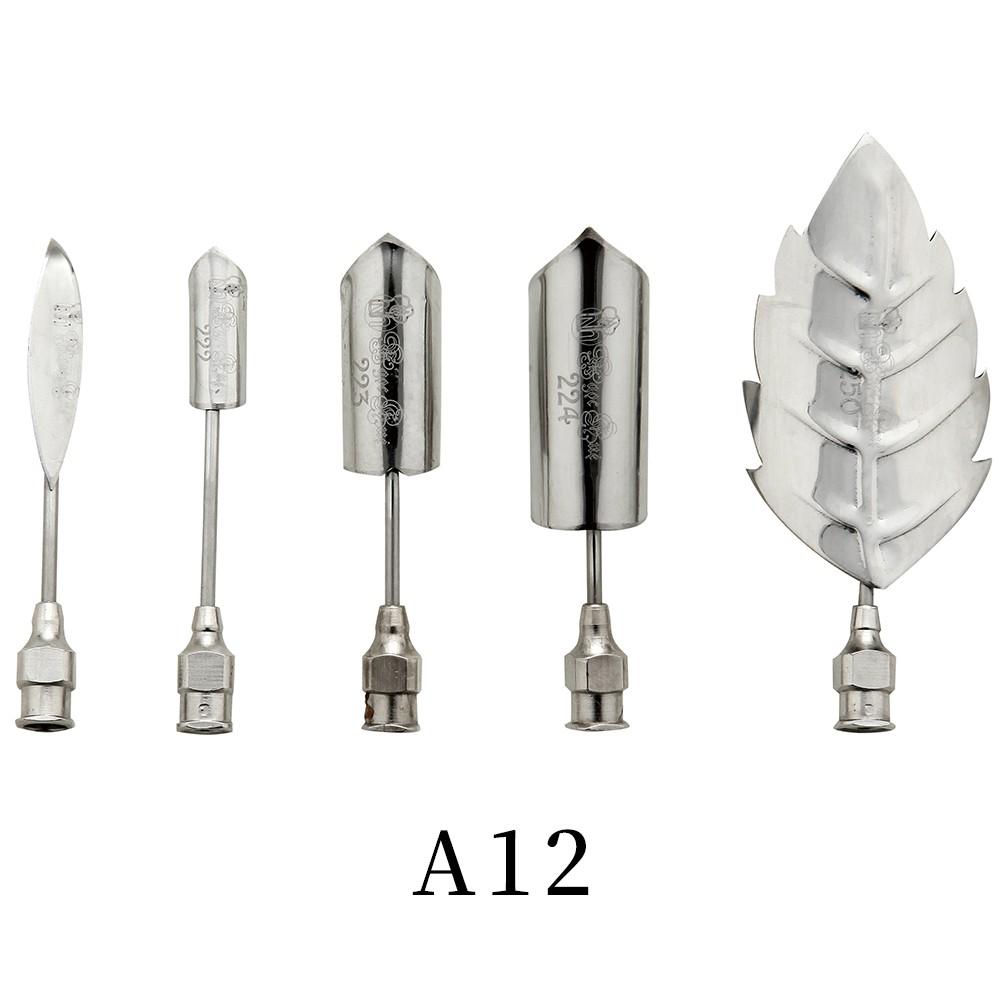 優果《越南進口不鏽鋼果凍花針A12》每組內含5支針