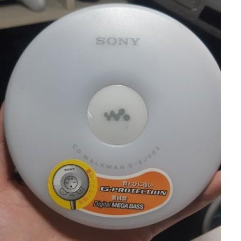 CD隨身聽 Sony CD Walkman D-EJ002 白色 09年製