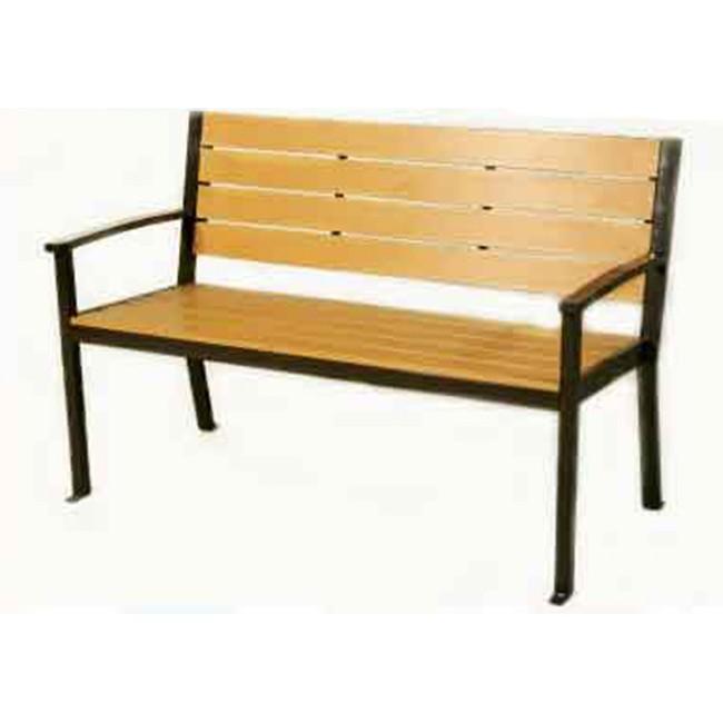 【DC653-1】 鐵製塑木公園椅 #S13108