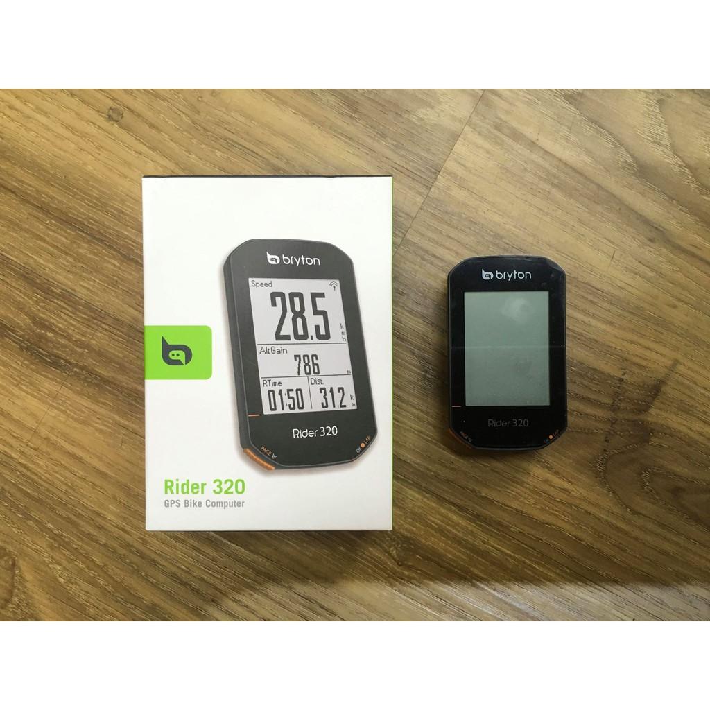 佶昇動輪車-Bryton Rider 320自行車馬錶(單機)