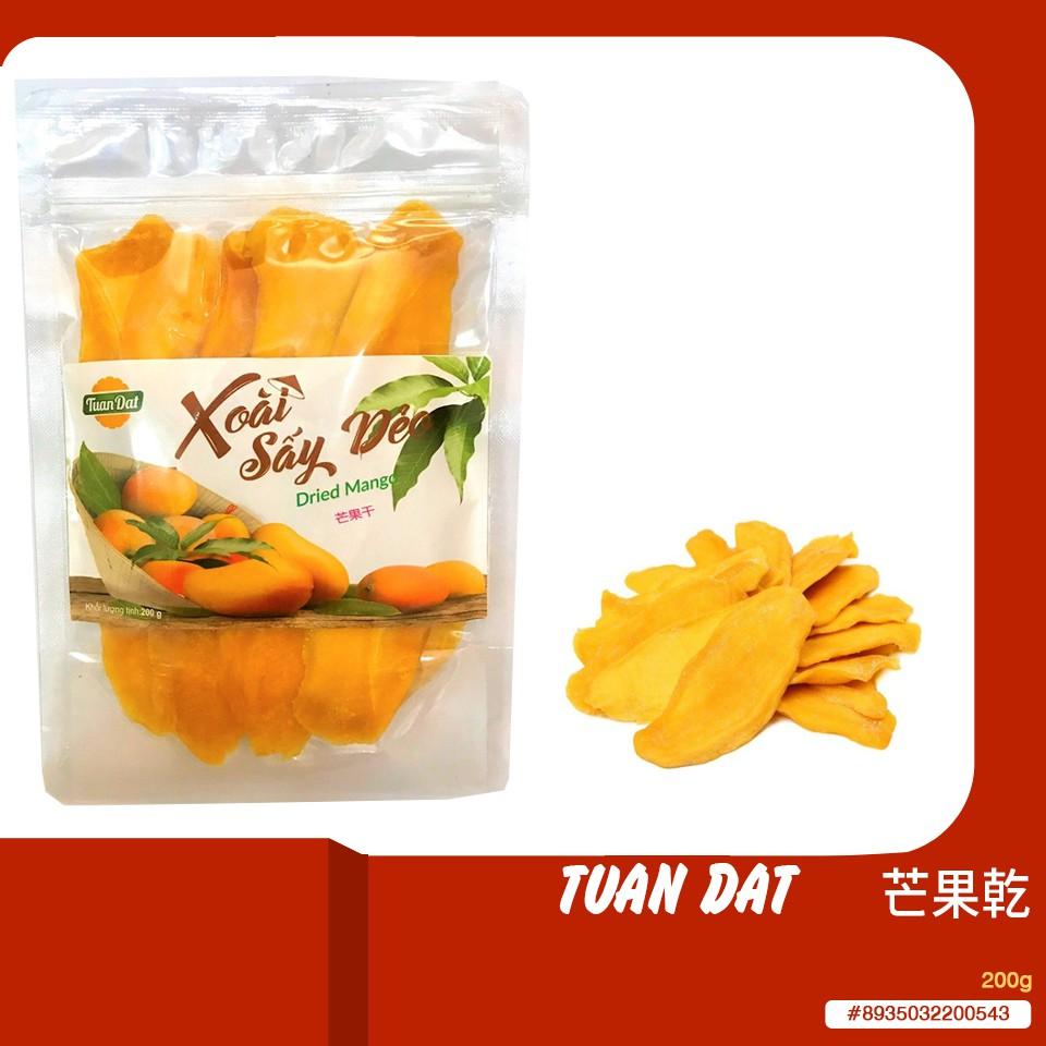 《每日美越》越南TUAN DAT 芒果乾_200g