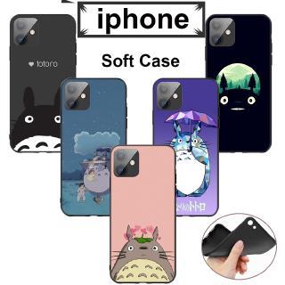 iPhone 5 5s Se 6 6S 7 8 X XR XS XS Max軟殼DA52我的鄰居龍貓