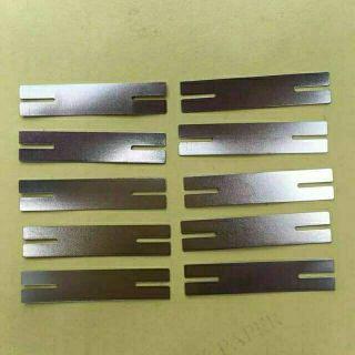 電池 點焊片 連接片 鍍鎳片 0.15 8 38 mm 開叉H型 26650用 鑫文源 電動力小姐01 高雄市