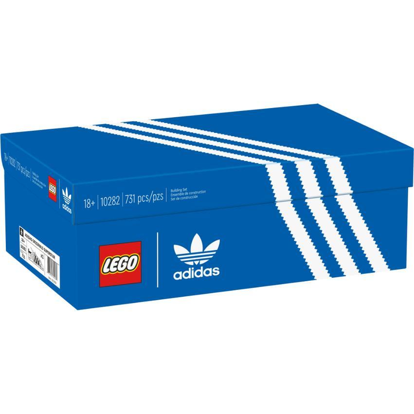自取2600【台中翔智積木】LEGO 樂高 10282 Adidas Originals Superstar 愛迪達聯名