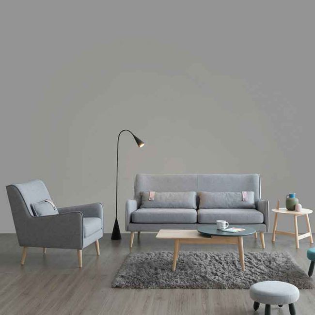 【JB431-1】瑞典單人位沙發