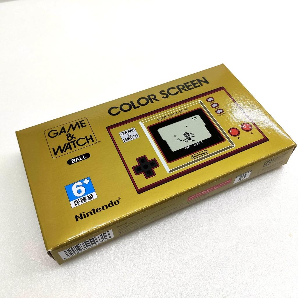 任天堂 Game & Watch 攜帶型遊戲機 超級瑪利歐兄弟 35週年紀念【預購12 月】