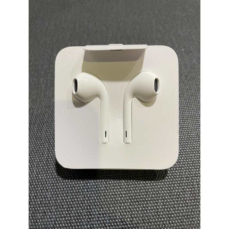 [全新][自售]蘋果apple 原廠iPhone 耳機(lightning版)附3.5mm轉接頭