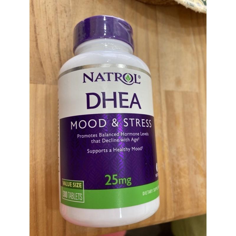 現貨!美國NATROL DHEA 25mg 300顆 試管嬰兒