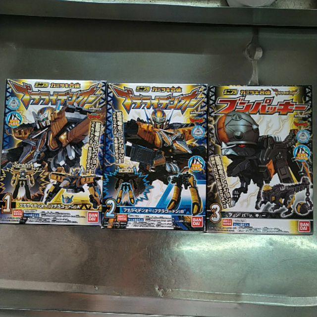 現貨 日版 盒玩 獸電戰隊 合體系列 第三彈,全3盒