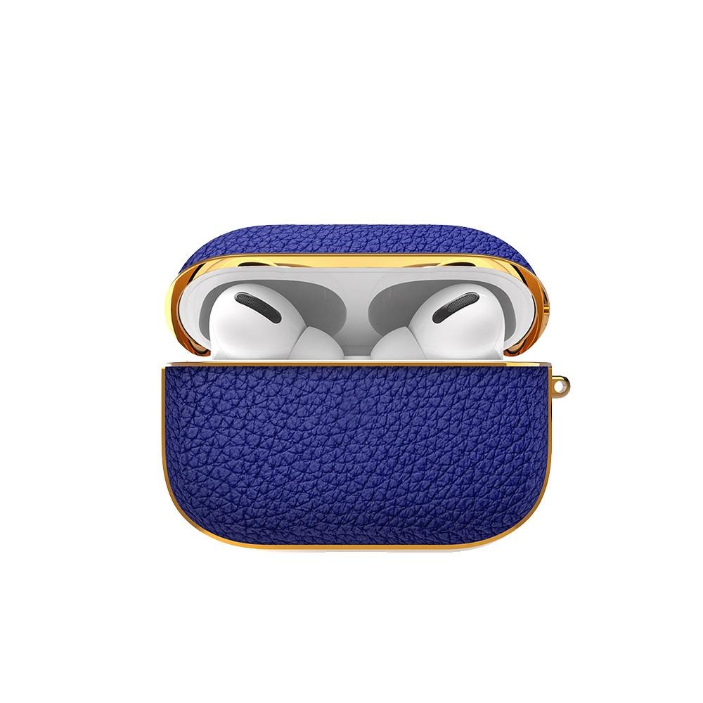 【免運費】hoda Apple AirPods Pro 真皮保護殼 匠心系列-寶藍