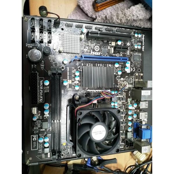 MSI 760GM-P34(P34) 主機板+FX6300