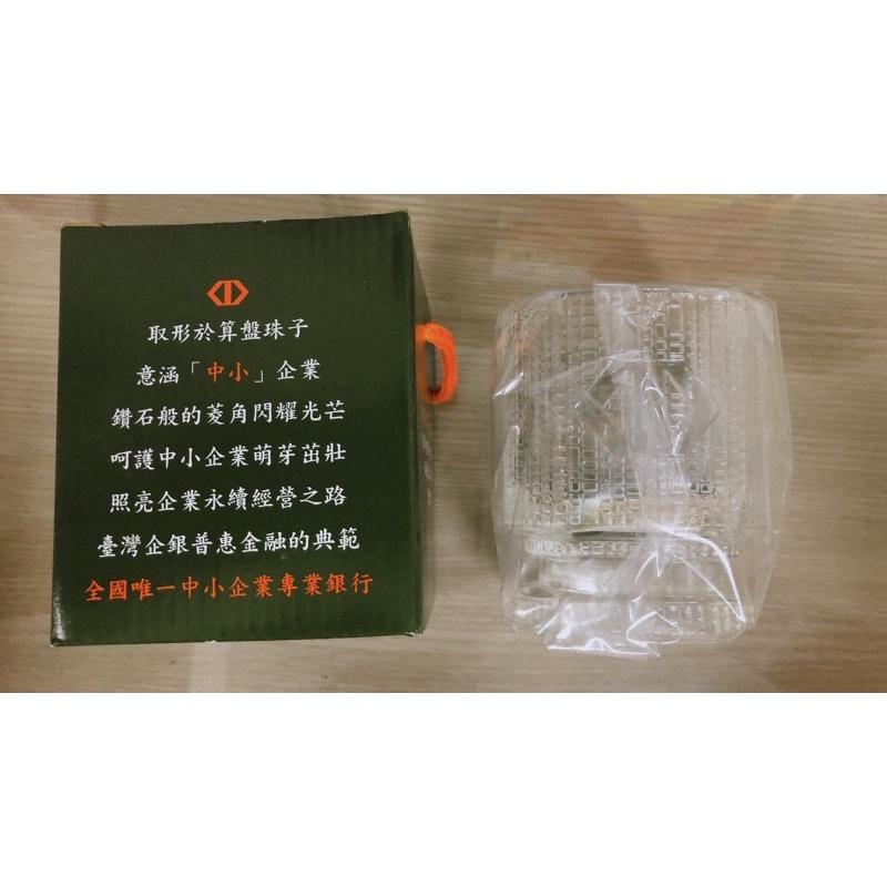 [110年 台企銀 股東會紀念品]全新 兩極食器精品杯 300ml 耐熱玻璃杯