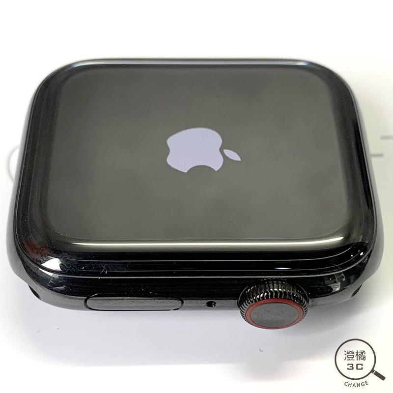 『澄橘』Apple Watch Series 4 四代 44mm LTE 黑 二手 中古《不鏽鋼 米蘭錶帶》A48482