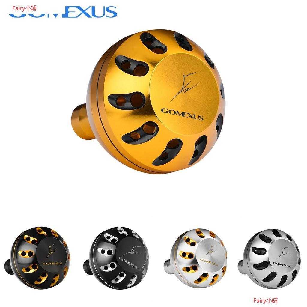 【精選】Gomexus鋁合金握45/47mm適用daiwa shimano小烏龜紡車輪捲線器 海釣 磯釣