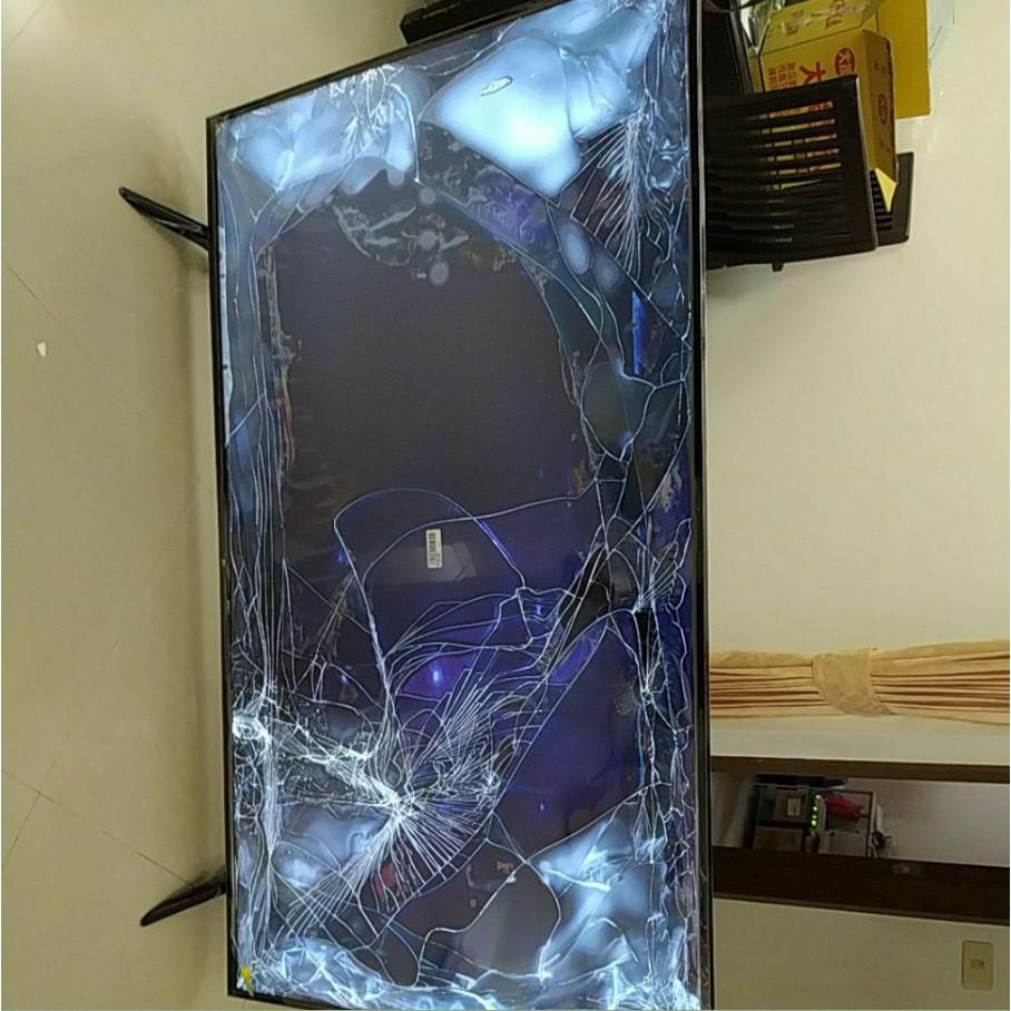 小米电视E65C 65吋4K智能高清電視 屏幕破损 其他设备完好特价处理