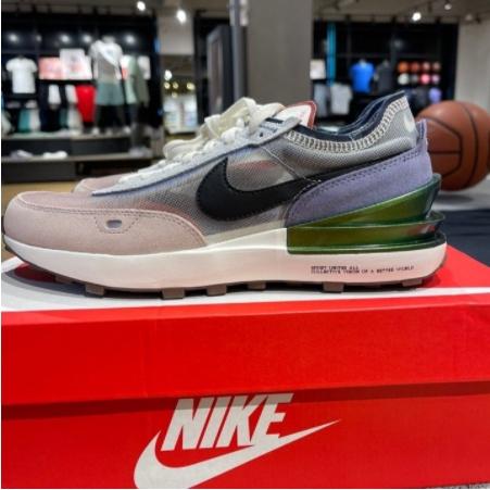 Nike Waffle One 黑粉紫 休閒鞋 慢跑鞋 男女同款 DM5446-701