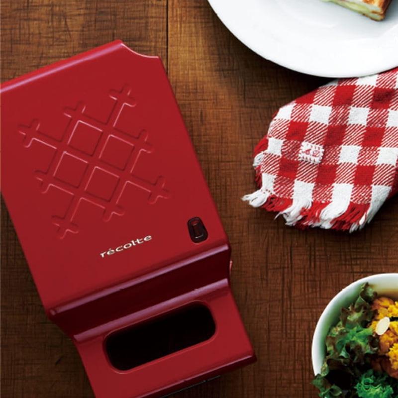 《二手品轉手》recolte 日本 麗克特 Quilt格子熱壓三明治機