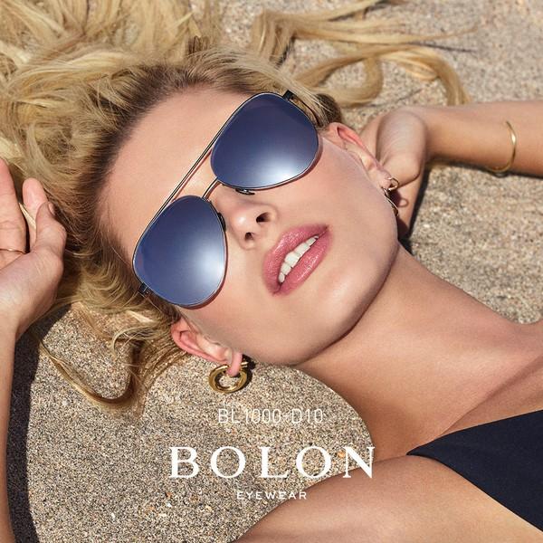 【BOLON 暴龍】經典飛行員框太陽眼鏡 超模代言款 BL1000