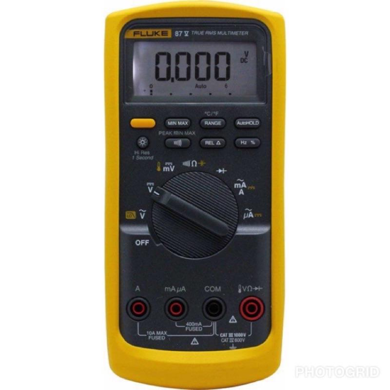 全新FLUKE萬用電錶 87V 87-5 公司貨