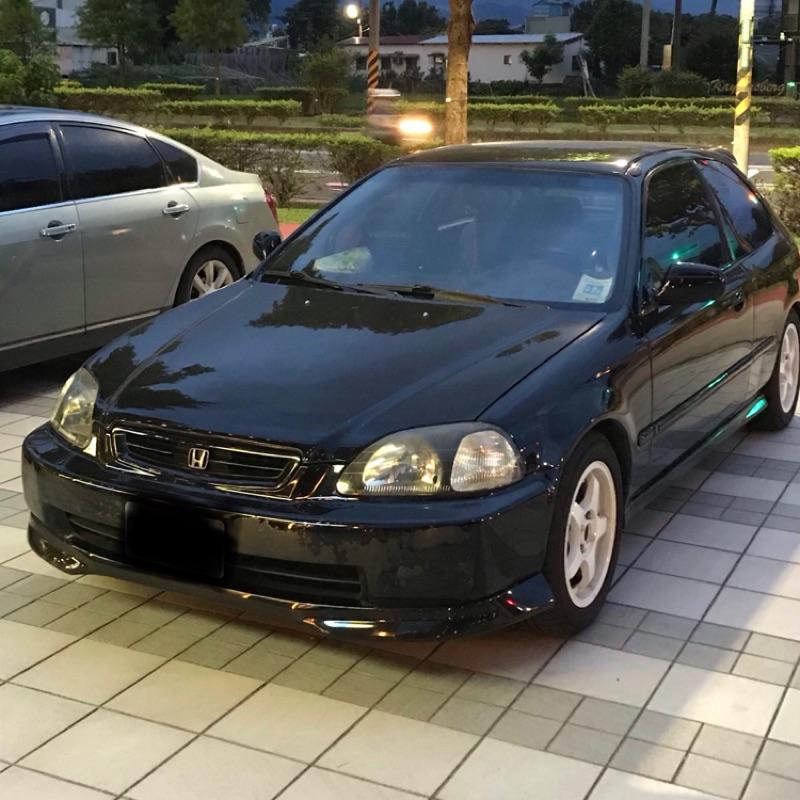 自售 Honda 98年 原廠手排 Civic 6th 三門 K8