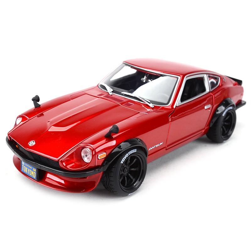 【sf】美馳圖原廠1:18達特森DATSUN 240Z NISSAN GTR仿真合金汽車模型