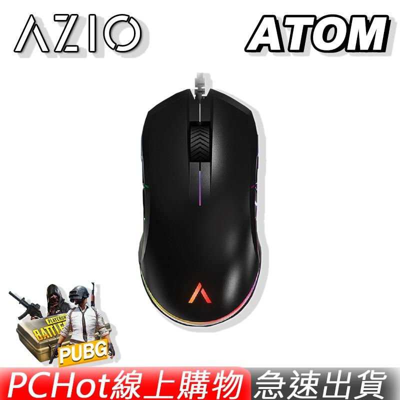 ATOM 光學滑鼠 電競滑鼠 最高規格PixArt3360感應器 6400DPI 1000HZ PCHot [免運速出]