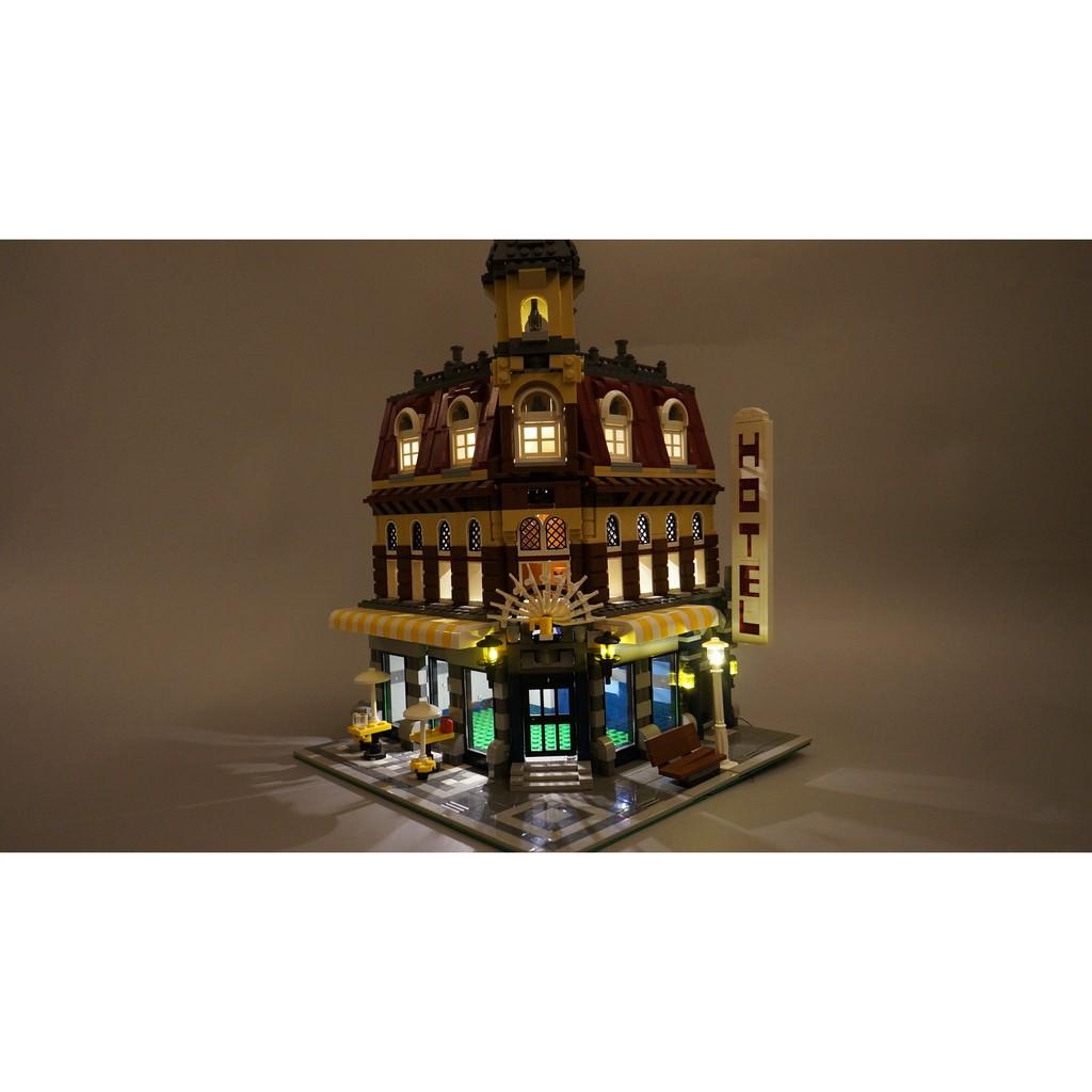 【WBS】樂光創意Lego 10182 Café Corner 轉角咖啡廳 樂高 專用 燈組