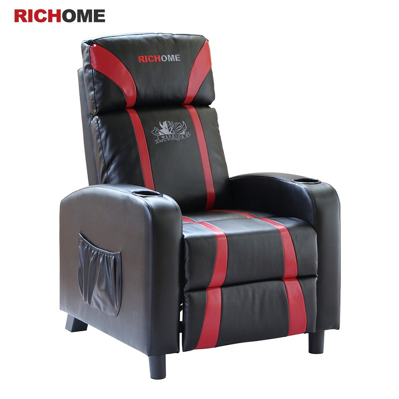 RICHOME   SF004  WARRIOR-電競功能沙發 沙發 電競沙發 功能沙發 雙杯架 沙發 單人沙發 電競