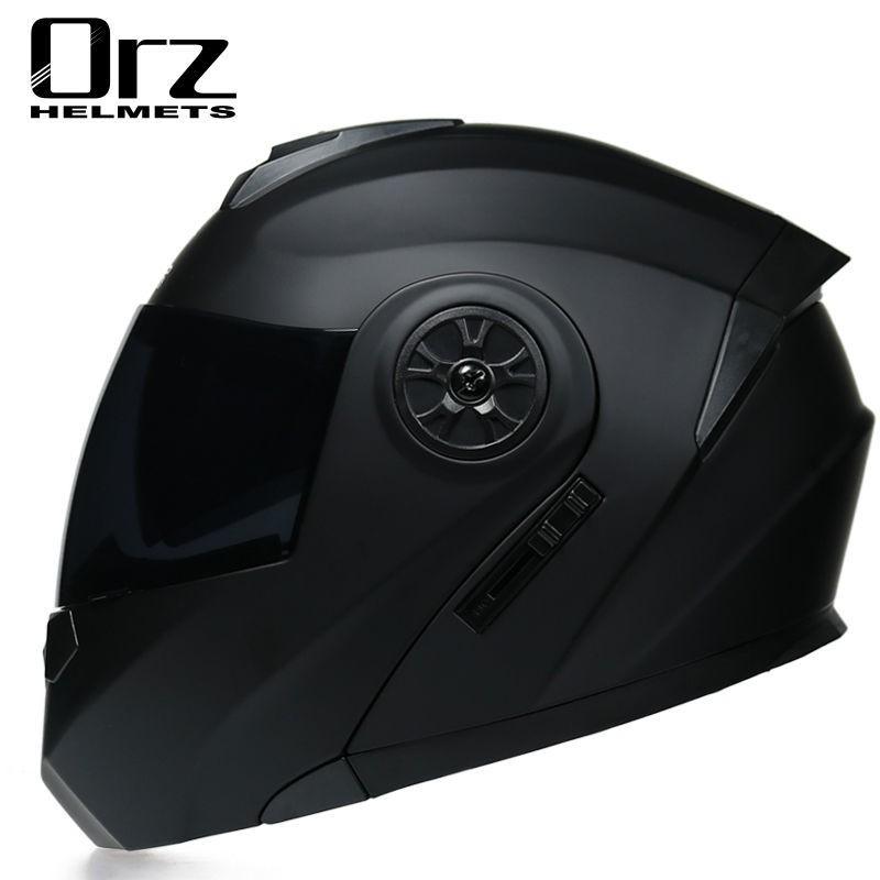 熱賣現貨ORZ摩托車安全帽男女全盔雙鏡片春夏電動機車個車越野盔四季