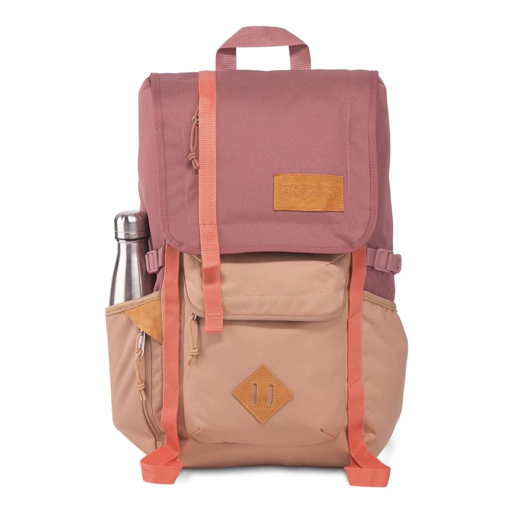 JanSport 休旅系列 HATCHET 後背包(42010J69U)-玫瑰褐