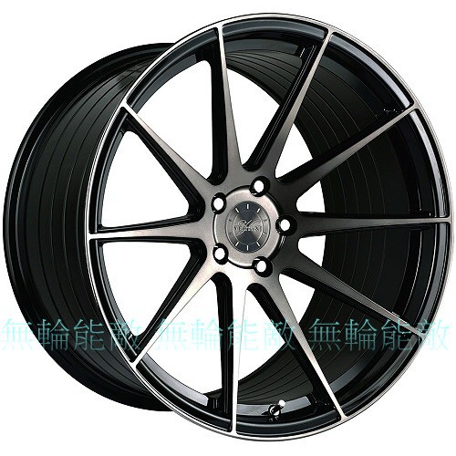 全新鋁圈 VERTINI RF1.3 19吋 5孔108 5孔112 5孔120 5孔114.3 黑車黑透 旋壓鋁圈