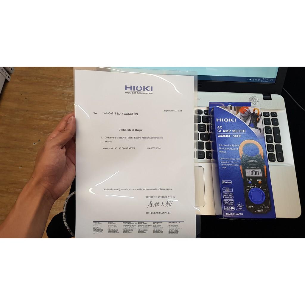 【全電行】✨ 36H快速寄送 ✨ HIOKI 3280-10F+出廠證明 大廠指定 一張紙一台機器 序號認證 保固三年