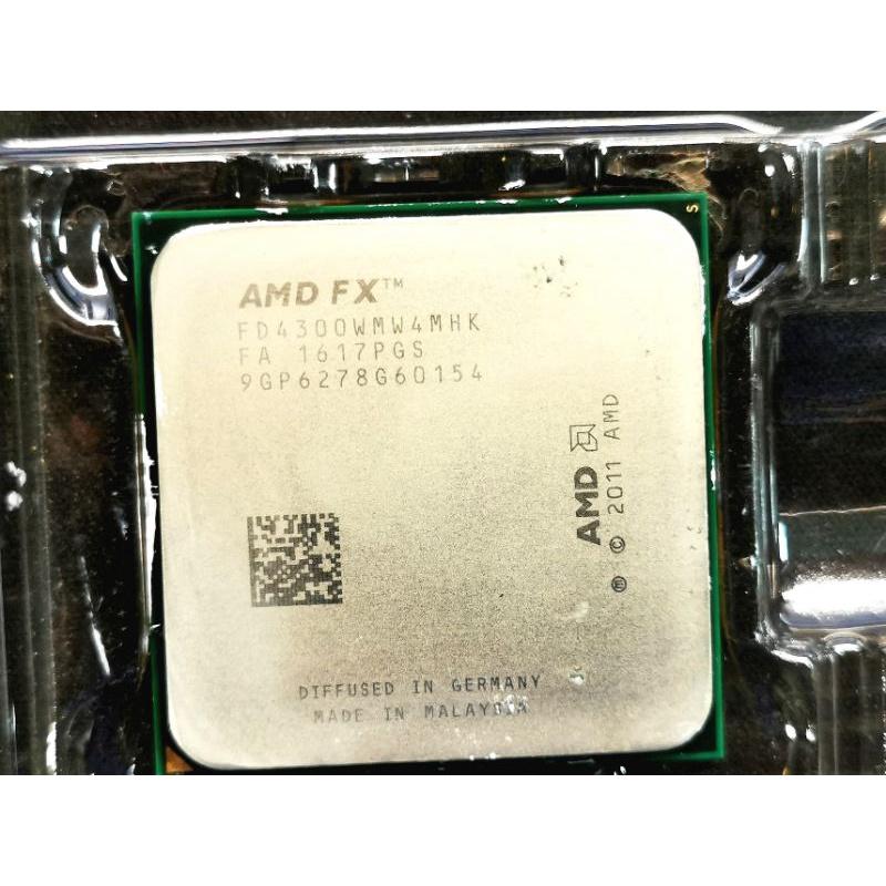 AMD FX4300 CPU 4核心