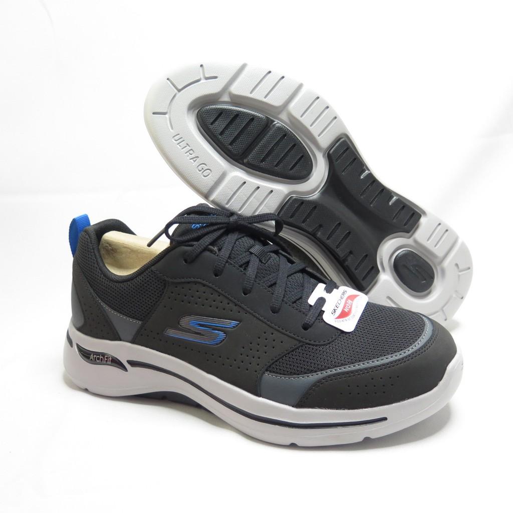 Skechers GO WALK ARCH FIT RE 男款 健走鞋 216122BKBL 黑【iSport愛運動】