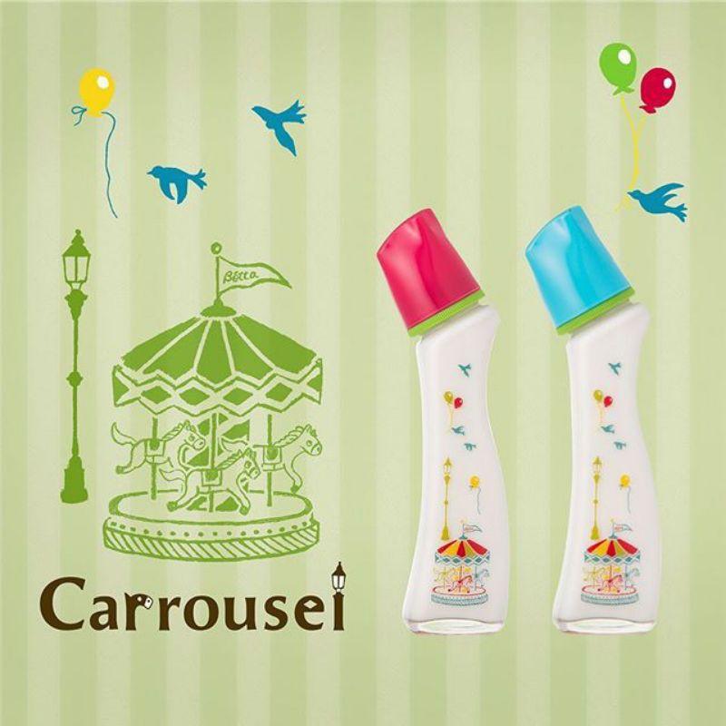 全新 Dr. Betta蓓特🍼防脹氣奶瓶 Brain G4-Carrousel  (耐熱玻璃/現貨)