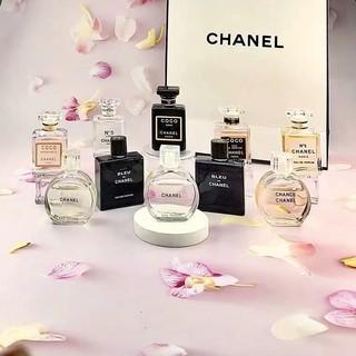 免稅店購入 Chanel 全系列香水 7.5ml 原裝Q版香水coco 黃邂逅 粉邂逅 黑coco 19號 蔚藍 臺南市