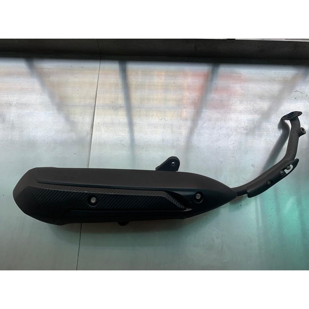 (2手)KYMCO 光陽 雷霆S 150 原廠排氣管(有噴耐熱漆防鏽)