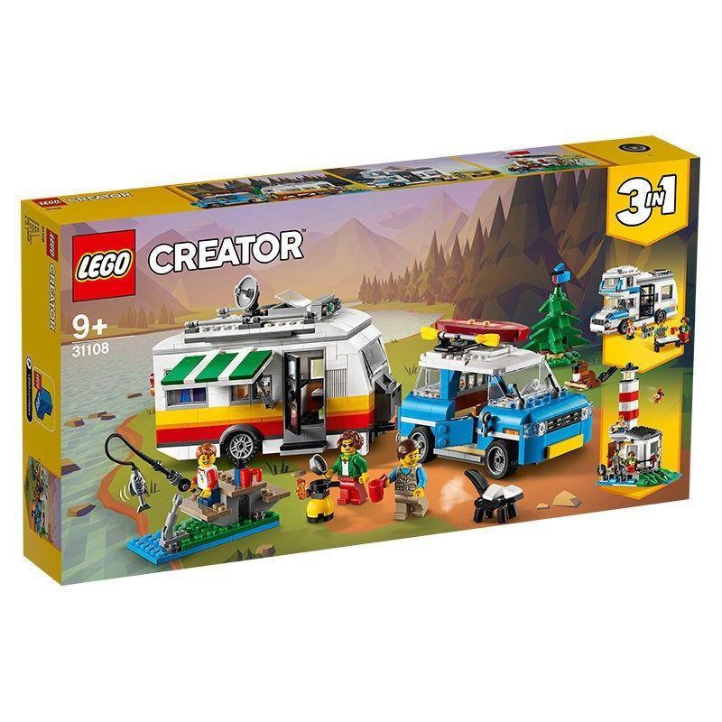 Lego 創意系列 31108 家庭度假大篷車