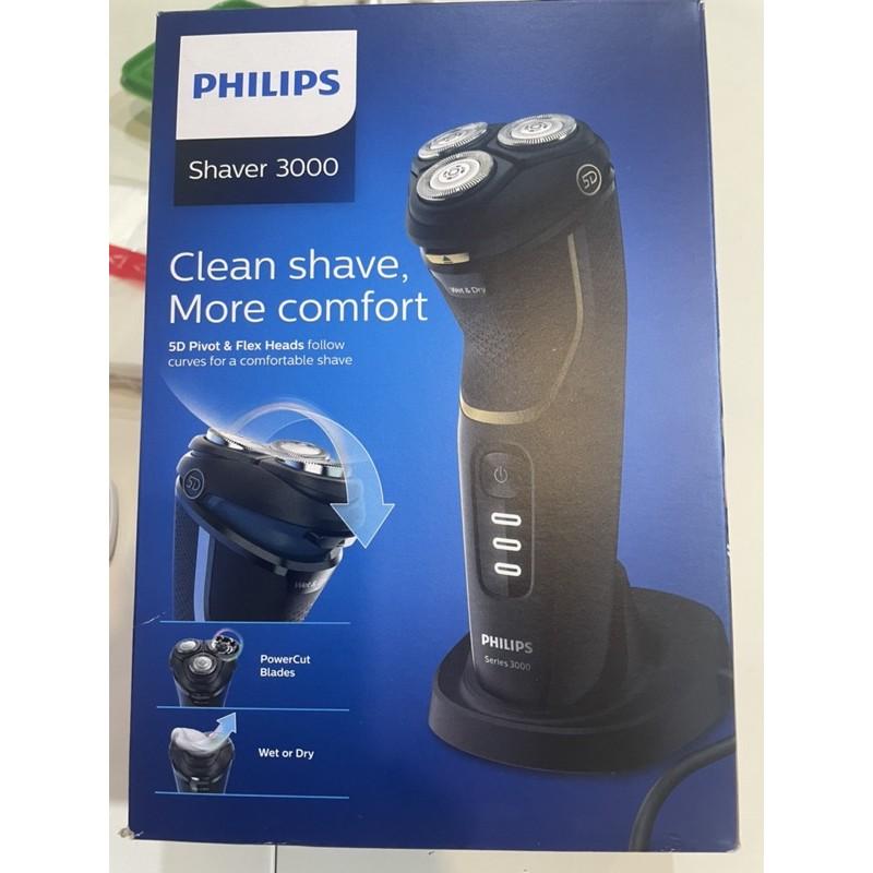 Philips 飛利浦Shaver3000 水洗電動刮鬍刀