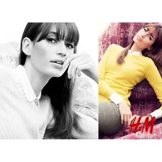 H&M 100% Cashmere 百搭款亮麗純羊絨毛衣/ 上衣 花蓮縣