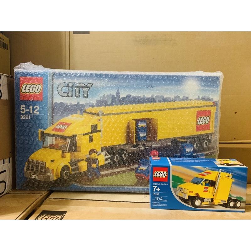 LEGO 3221 10156 全新未拆 樂高車 卡車 貨卡 下標前請先聊聊