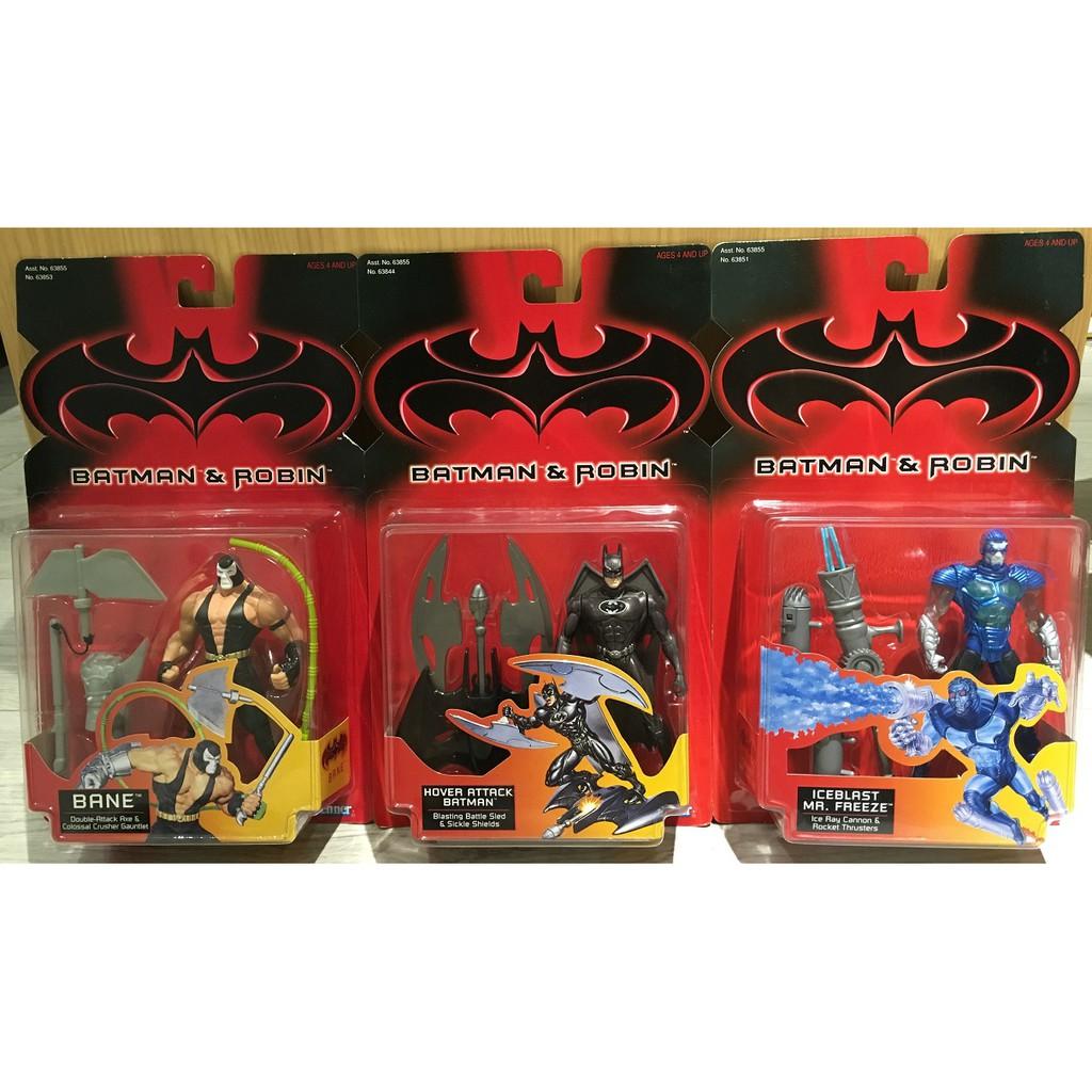 [蝙蝠俠022]Kenner 1997 Batman and Robin Hover Attack 急凍人 班恩 合售